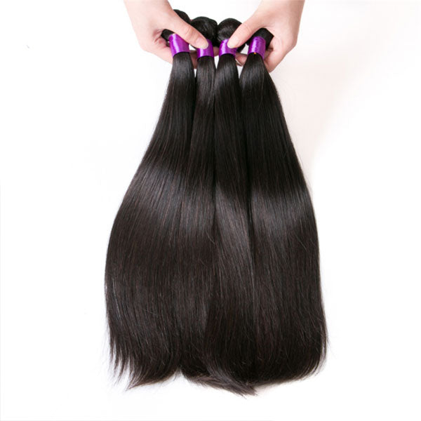 Straight Hair Bundles Brazilian Hair Weave