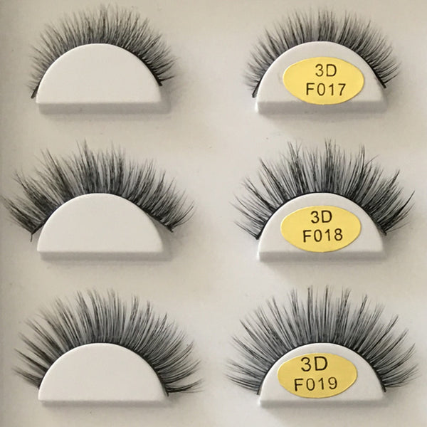 3D Natural Long False Eyelashes Hand Made 【PEGE06】 - pegasuswholesale
