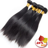 Wholesale 10 Bundles Brazilian Remy Human Hair Straight - pegasuswholesale
