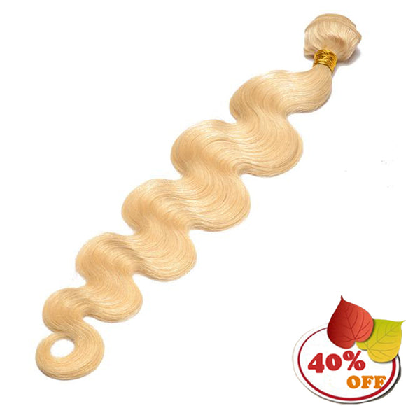 613 Blonde Brazilian Virgin Hair Body Wave 3 Bundles - pegasuswholesale