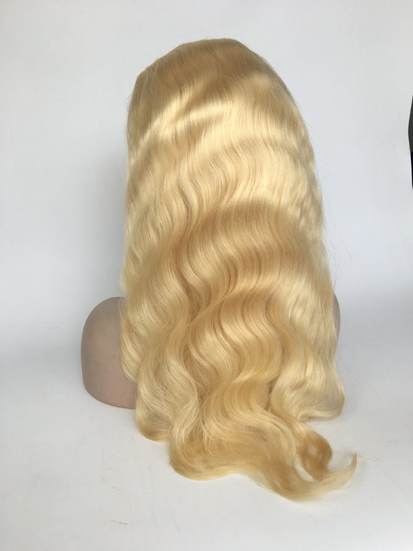 613 Blonde Body Wave Wig (Pure color/1B root) - 【PEG002】 - pegasuswholesale