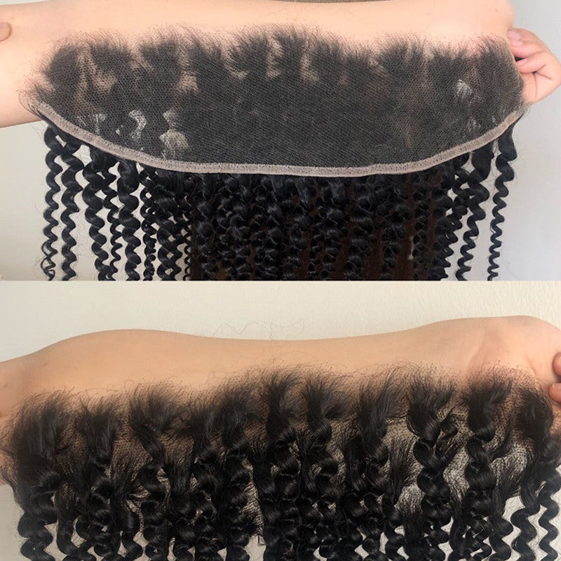 HD LACE KINKY CURLY HIGH DEFINITION SWISS LACE 13X4 LACE FRONTAL CLOSURE HIGH QUALITY - pegasuswholesale