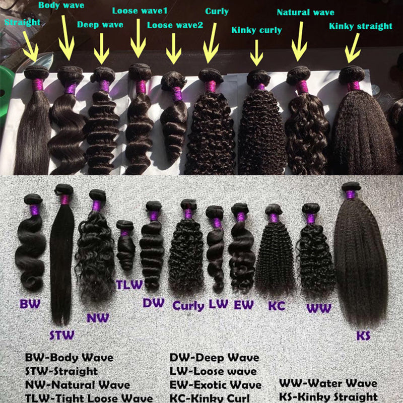 Deal 8A Bundles With Closure Human Hair - pegasuswholesale