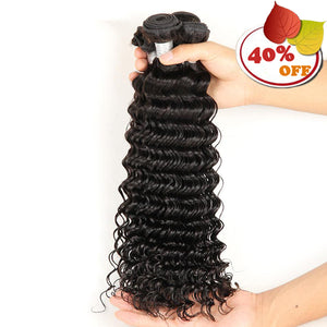 Wholesale 10 Bundles Brazilian Remy Human Hair Deep Wave - pegasuswholesale