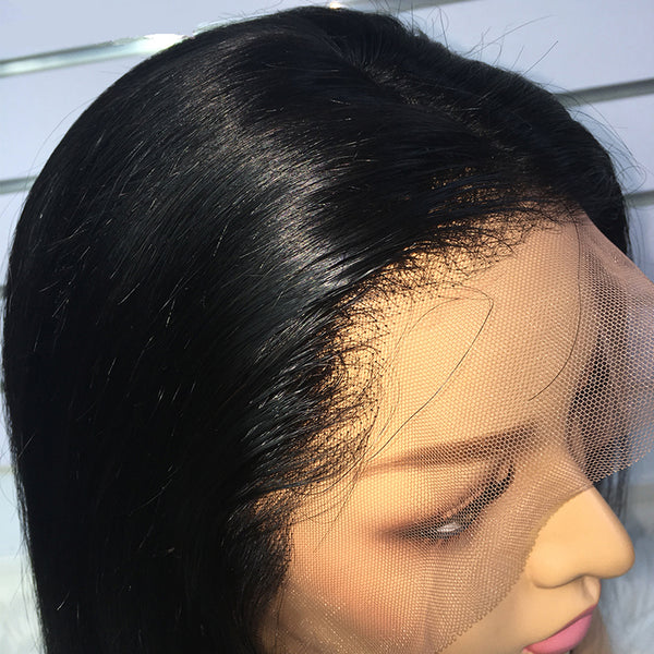 Straight Bob Virgin Hair Wig - pegasuswholesale
