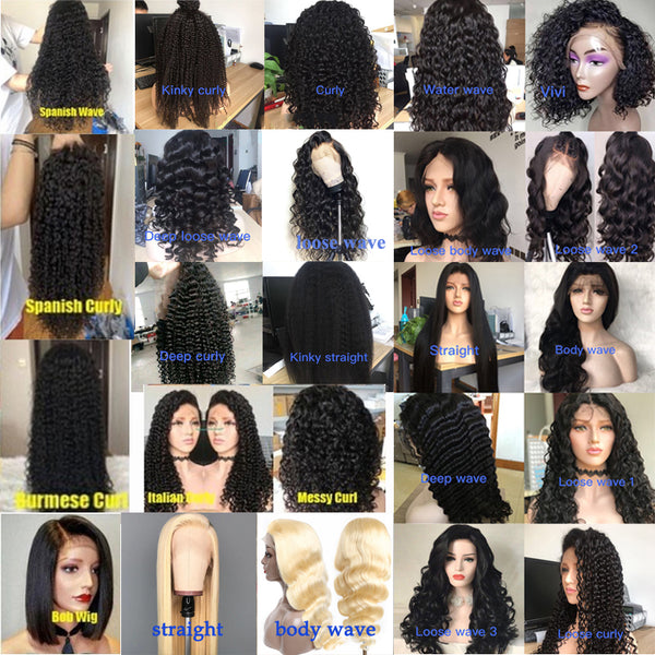 5 Wigs Deal Natural Color With 613 Color Human Hair - pegasuswholesale
