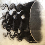 NEW HD LACE HIGH DEFINITION SWISS LACE 13X4 LACE FRONTAL CLOSURE BODY WAVE - pegasuswholesale