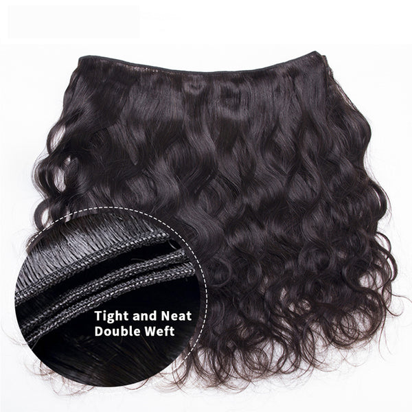 "Body Wave 9A Bundles With 13x4"" Frontal Brazilian Hair - pegasuswholesale"