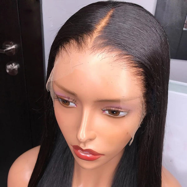 13x6 Transparent Lace Frontal Wigs Straight Hair 5x5 6x6 closure Wigs - pegasuswholesale