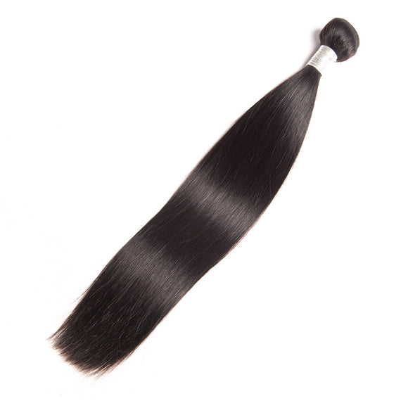 9A Brazilian Virgin Hair 1 Bundle Straight - pegasuswholesale