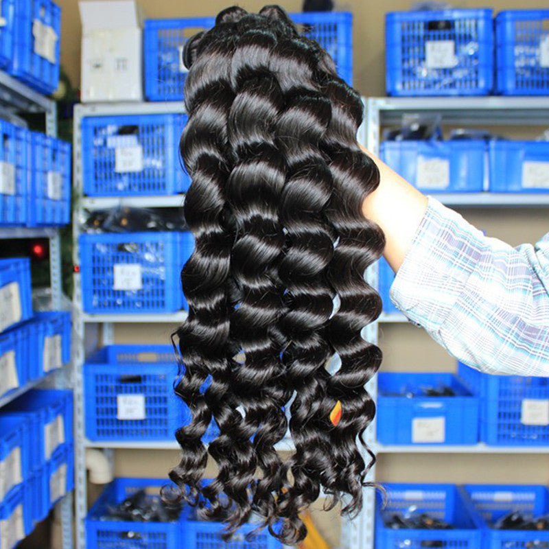 Wholesale 9A 10 Bundles Brazilian Virgin Hair Loose Wave - pegasuswholesale