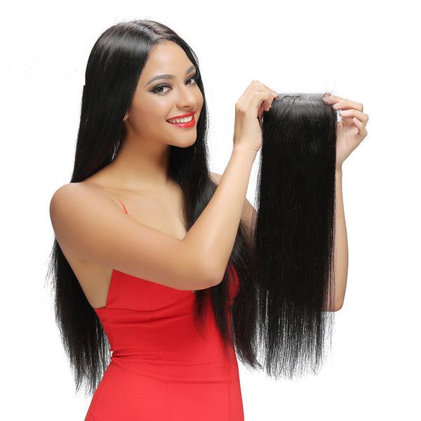 Wholesale 5PCS Straight Brazilian Human Hair Lace Closure - pegasuswholesale