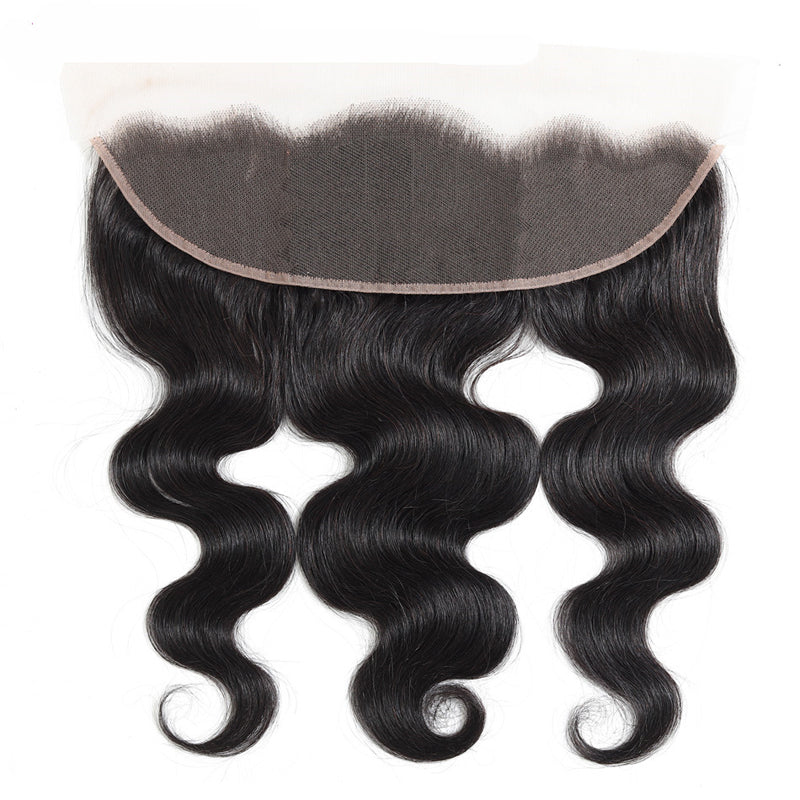 Transparent Lace 13x4 Frontal with 3 Bundles Body Wave Malaysian - pegasuswholesale