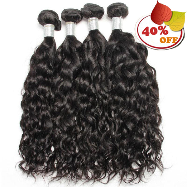 3/4 Piece Natural Wave Hair Bundles 9A Grade Brazilian - pegasuswholesale