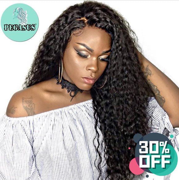 260% Density Curly Lace Front Wig - 【PEG023】 - pegasuswholesale