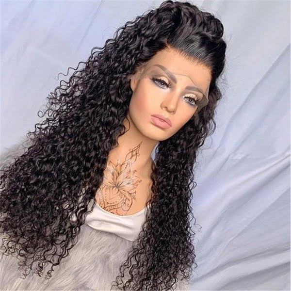 13x6 Transparent Lace Frontal Wigs Curly Hair 6x6 Closure Wigs - pegasuswholesale