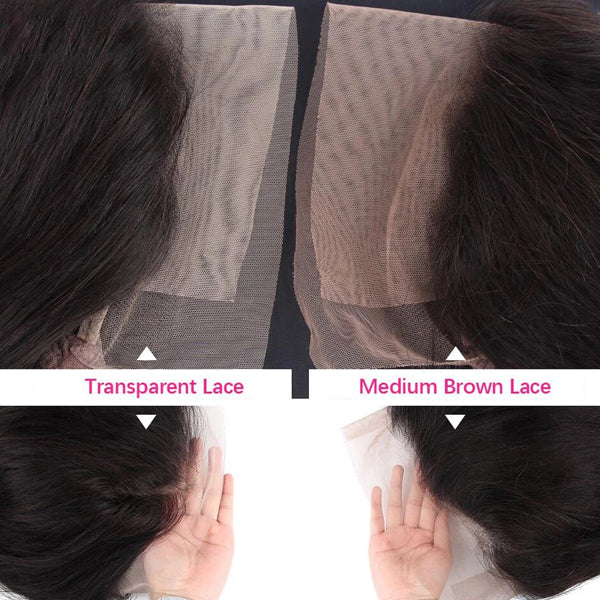13x6 Transparent Lace Frontal Wigs Kinky Curly Hair 5x5 6x6 Closure Wigs - pegasuswholesale