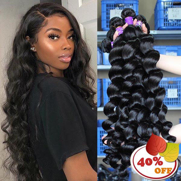 Brazilian Hair Weave 9A Loose Wave Bundles 3/4pcs/Lot - pegasuswholesale