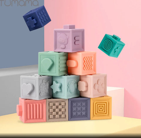Rubber Sensory Blocks
