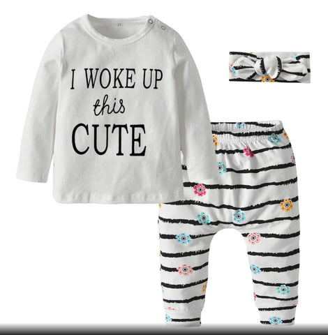 Woke Up Cute Set
