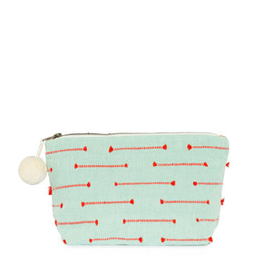 Mercado Fire & Water Fringe Cosmetic Pouch
