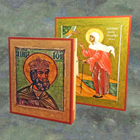 Reproduction Printed Orthodox Icons
