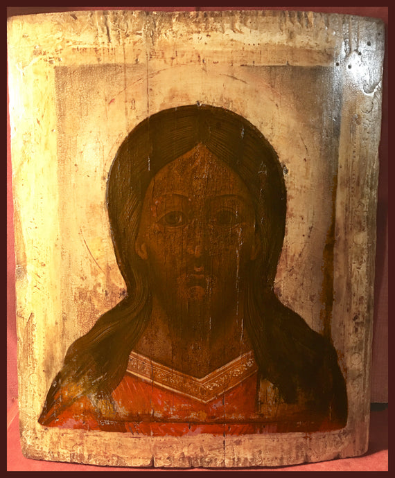 Christ the Savior antique Russian Icon