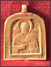 Load image into Gallery viewer, st nicholas metal antique russian icon