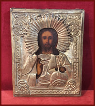 Load image into Gallery viewer, antique russian orthodox icon