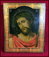 Load image into Gallery viewer, christ the bridegroom antique russian icon