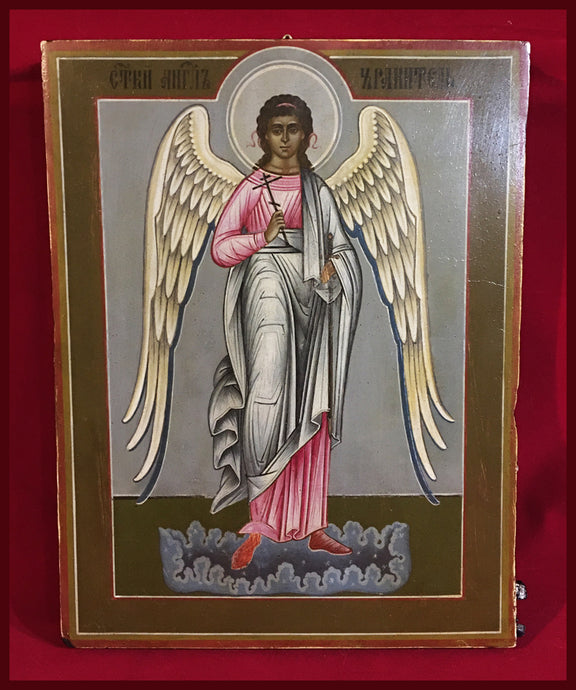 guardian angel antique russian icon