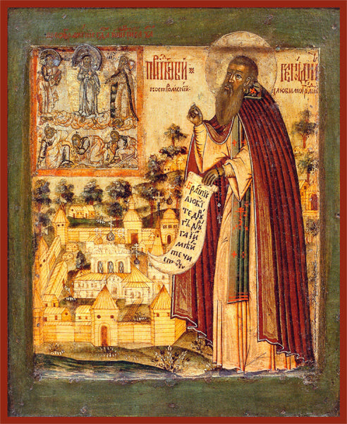 St. Gennadius of Kostroma Orthodox Icon