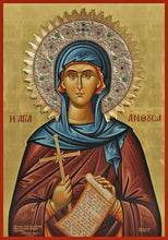 Load image into Gallery viewer, St. Anthousa orthodox icon
