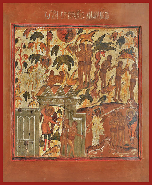 The Fall and the Expulsion of Adam and Eve from Paradise