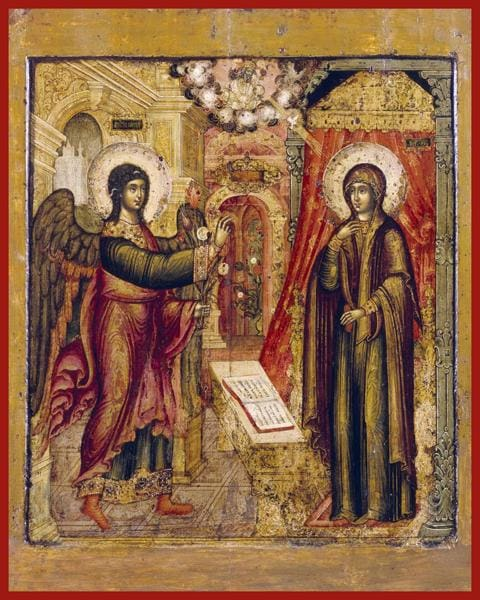 Annunciation - Icons