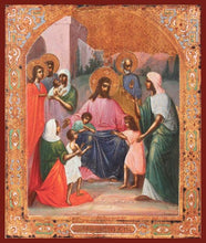Load image into Gallery viewer, Christ Blessing The Children - Icons
