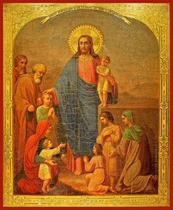 Christ Blessing The Children - Icons