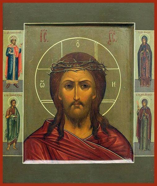 Christ Crown Of Throns - Icons