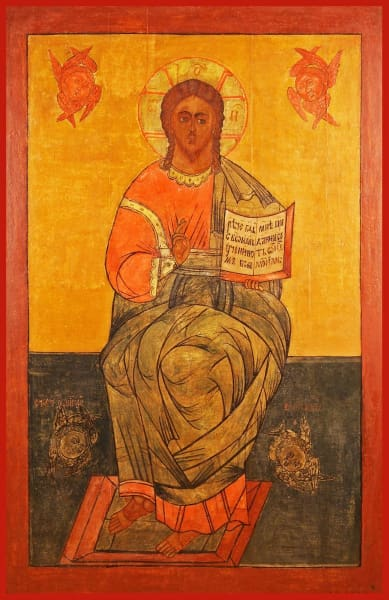 Christ Enthroned - Icons