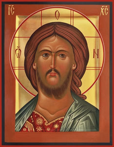 Christ Fiery Eye - Icons