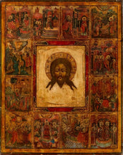 Load image into Gallery viewer, Christ Not Made With Hands And Scenes - Icons