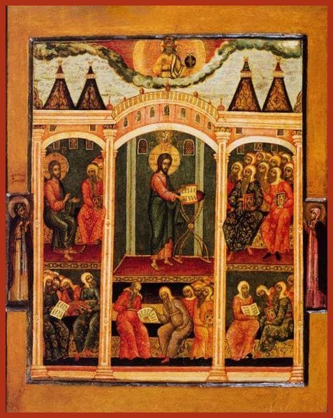 Christ Teaching In The Temple - Icons