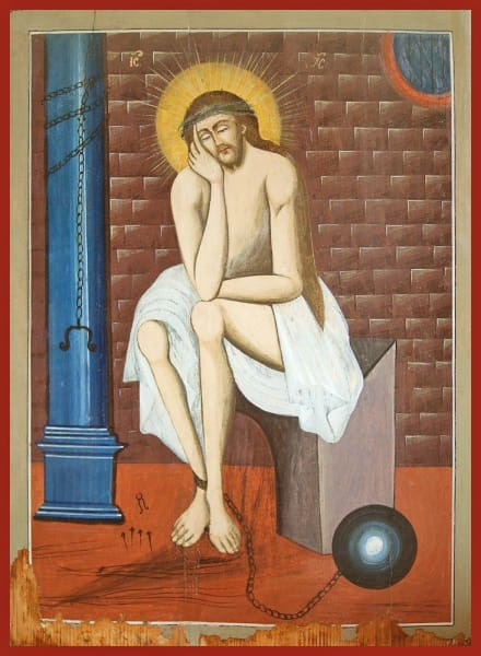 Christ The Prisoner - Icons