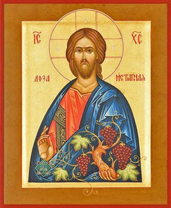 Christ The True Vine - Icons