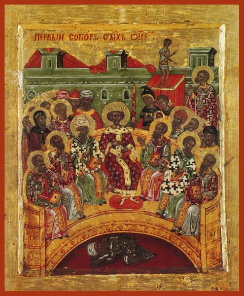Commemoration Of The First Ecumenical Council - Icons