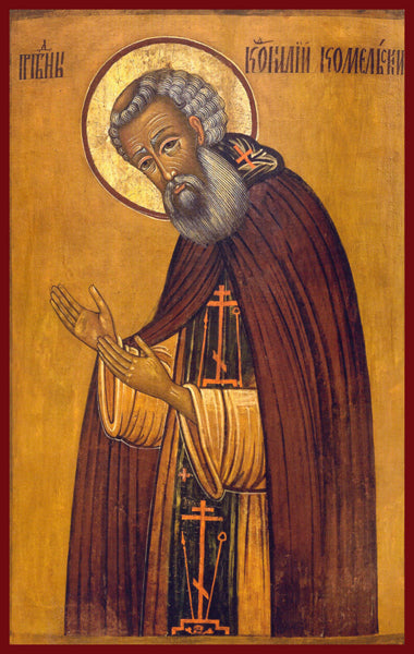 St. Cornelius of Komel Orthodox Icon