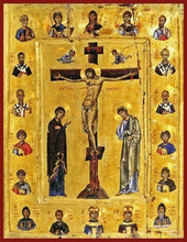 Load image into Gallery viewer, Crucifixion With Saints - Icons