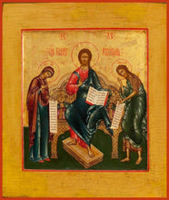 Load image into Gallery viewer, Deisis With Christ Enthroned - Icons