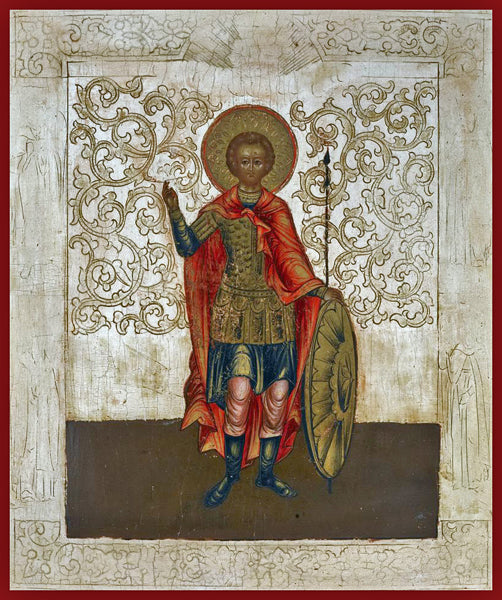 St. Demetrius the Great Martyr Orthodox Icon