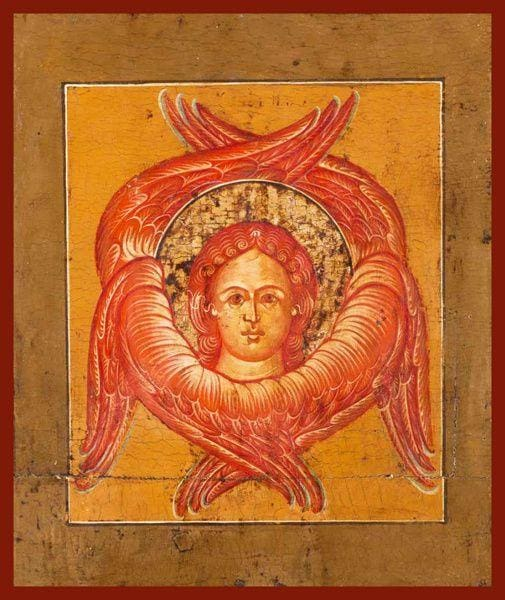 Depiction Of The Holy Seraphim - Icons